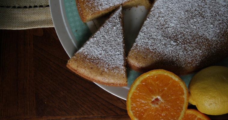 Ciambella all'arancia e limone