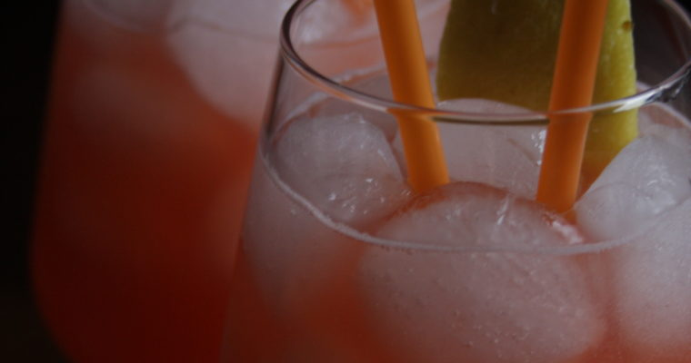 Spritz al bergamotto e pompelmo rosa    -homemade-