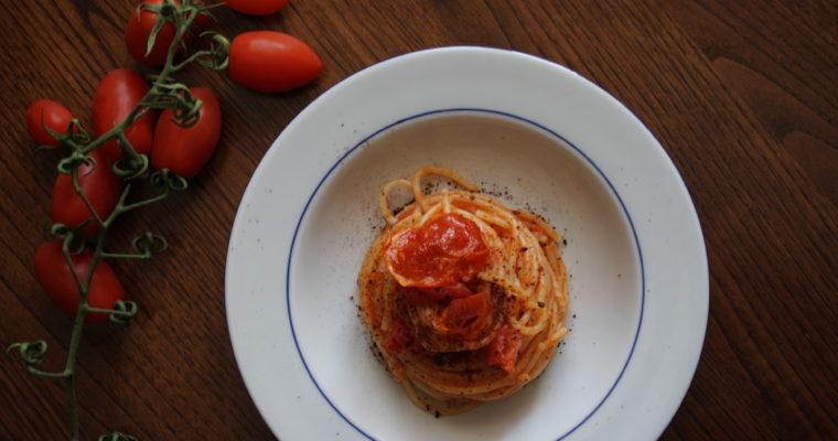 Spaghetti al pomodoro -alla 4°-