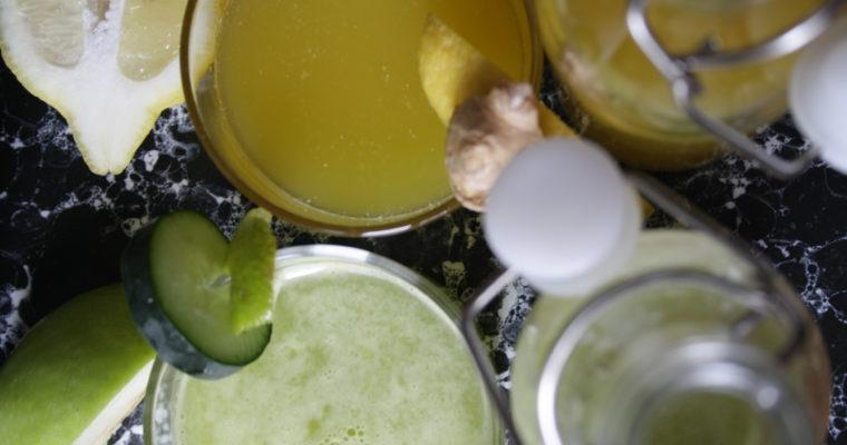 Detoxjuice -giallo e verde-