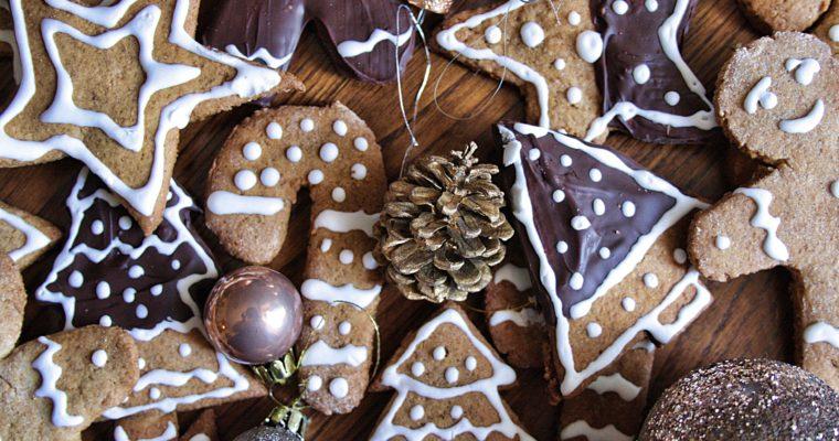 Biscotti pan di zenzero – con cioccolato-