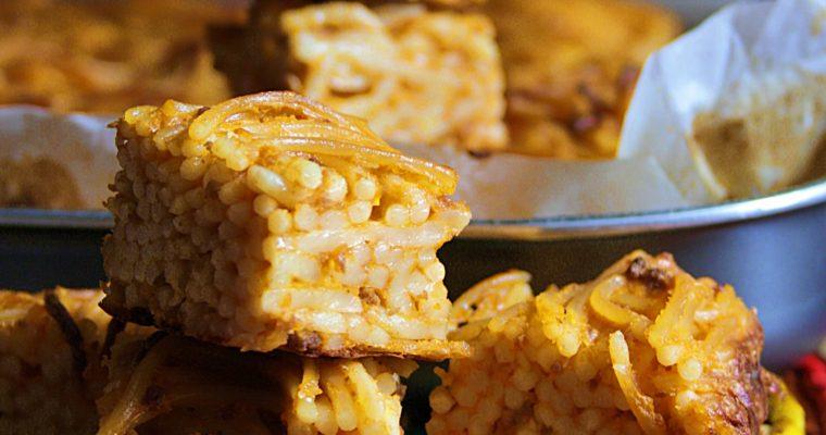 Frittata di pasta al forno – con ragù e besciamella –