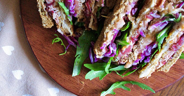 Club sandwich – con petto di tacchino al miele –