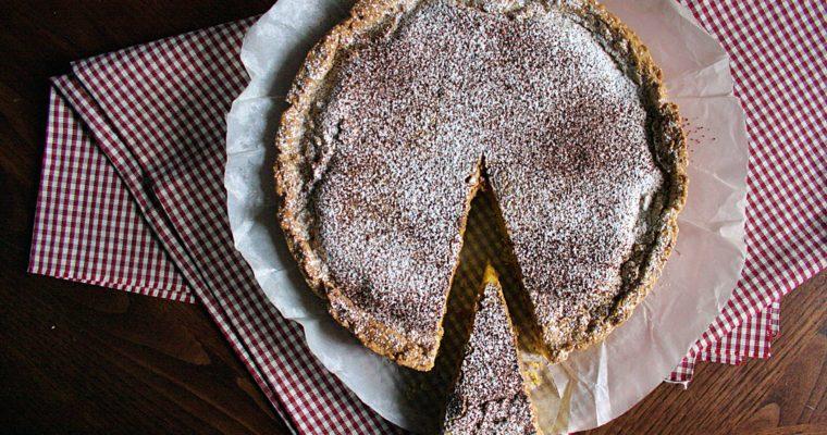 Crostata con crema al mascarpone