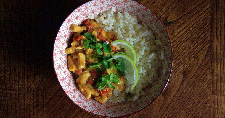 Curry thai di pollo